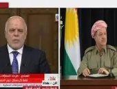 تطورات الوضع فى كردستان.. برزانى يتراجع والعبادى يتحصن بالعرب