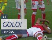 بالفيديو.. كوكا يسجل ويتعرض لإصابة قوية أمام تونديلا بالدورى البرتغالى