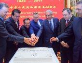وزير التجارة والصناعة يشارك فى الاحتفال باليوم الوطنى لجمهورية الصين