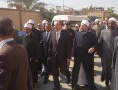 بالصور.. محافظ بنى سويف يستقبل وزير الأوقاف لافتتاح مسجد وتسليم مقاعد مدرسية
