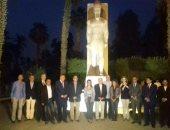 بالصور.. وزيرا الآثار والاستثمار يشهدان افتتاح مشروع تطوير منطقة منف الآثرية