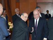 عدلى منصور ومحلب وزير الثقافة يشهدون تسليم جائزة هيكل للصحافة العربية