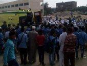 مصرع طفلة سقطت من الدور الرابع بمدينة العاشر بالشرقية