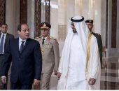 بالفيديو.. لحظة استقبال محمد بن زايد للرئيس السيسي لدى وصوله أبو ظبى