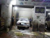 20 مغسلة سيارات تهدد منازل المواطنين فى بنى سويف