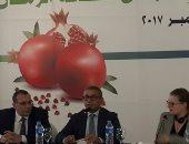 """ملتقى """"التصنيع الغذائى"""": مصر تنتج 130 ألف طن رمان سنويا"""