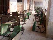 بالصور..أولياء أمور مدرسة تجريبية بالشرقية يشكون من نقل أبنائهم لمقر غير مجهز