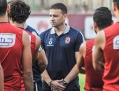 مدرب أحمال الأهلي يظهر فى المران بعد رحلة تونس