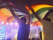 بالفيديو.. بلاغ جديد للتحقيق مع مالك مول ومطرب غير مصرى فى واقعة رفع علم المثليين