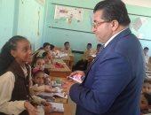 وكيل وزارة التربية والتعليم بطور سيناء يتابع انتظام العملية التعليمية