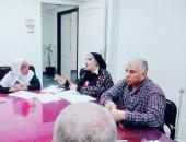 لجنة الجودة بصحة المنوفية تناقش خطة تطوير الإدارات الفنية بالمديرية