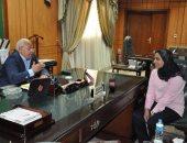 """محافظ بورسعيد يقرر إلحاق الطالبة """"ندى"""" بمدرسة المتفوقين"""