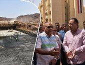 بالصور.. تفاصيل جولة وزير الإسكان لمحافظة أسوان