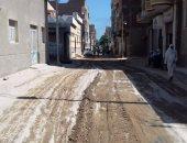 محافظة سوهاج تستجيب لشكاوى صحافة المواطن وتعد برصف طريق مدرسة الدعوة