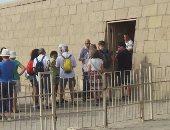 بالصور.. توافد السائحين على معبد كوم امبو قبل احتفالية اليوم العالمى للسياحة
