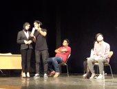 بالفيديو والصور.. أول عرض فريد من نوعة لمسرحية أبطالها من الصم والبكم بمكتبة الإسكندرية
