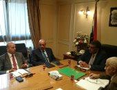 وزير قطاع الأعمال يلتقى مدير صندوق تحيا مصر وممثل شركات سعودية لتصنيع الدواء