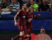 ملخص وأهداف مباراة برشلونة وسبورتنج لشبونة بدوري أبطال أوروبا