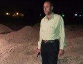 إزالة تعديات على نصف فدان أراضي زراعية في حملة ليلية بكفر الشيخ