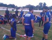 18 لاعبا في مران الأهلى.. وسليمان ومارسيلو يرتديان الزى الشتوى