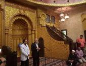محافظ جنوب سيناء يشرح مراحل افتتاح مسجد الصحابة بشرم الشيخ