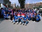 بالصور.. ماراثون وتنس طاولة فى ختام مهرجان استقبال طلاب جامعة عين شمس