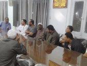 رئيس مدينة أجا يجتمع بالجزارين المعترضين على إزالة الأكشاك لتوسعة طريق القاهرة