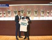 نجم ريال مدريد: فخور بتجديد عقدى مع أفضل نادٍ فى العالم