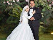 """الزميل مصطفى يحيى """"الدكش"""" يحتفل بزفافه فى جو عائلى بالمحلة"""