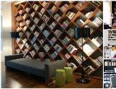 الثقافة حلوة مفيش كلام.. غيرى ديكورات بيتك بـ10 أشكال مختلفة للمكتبة