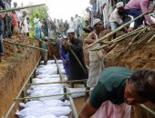 الجيش البورمى يؤكد للمرة الأولى العثور على مقبرة جماعية للروهينجا