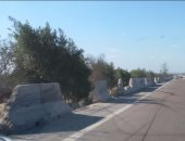 انتظام حركة المرور  بطريق إسكندرية الصحراوى بعد اصلاح كسر بماسورة مياه