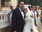 تداول صور زفاف الداعية معز مسعود والباحثة بسنت نور الدين