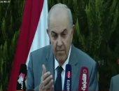 نائب الرئيس العراقى يصل مطار القاهرة.. ومصطفى مدبولى فى استقباله