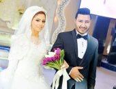 """زفاف """"محمود"""" و""""رنا"""" بحضور قيادات المنوفية"""