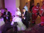 بالفيديو والصور.. البحر الأحمر تقيم حفل زفاف جماعى لـ 25 عروسة