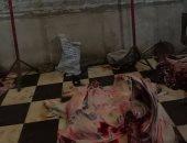 بالفيديو والصور.. ضبط 3 أشخاص يذبحون حيوانات ميتة لإعادة بيعها فى سوهاج