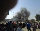 السيطرة على حريق نشب داخل مصنع منظفات بالعاشر من رمضان فى الشرقية