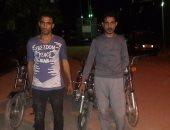 القبض على عاطلين شكلا عصابة لسرقة الدراجات البخارية بـ15 مايو