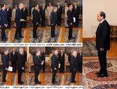 بالأسماء.. السيسى يعتمد 16 سفيرا جديدا بينهم إيطاليا وفرنسا
