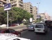 زحام مرورى بسبب أعمال تطوير إصلاحات بمحور الشهيد وشارع الثورة