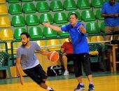 بالصور.. معسكر منتخب كرة السلة بالإسكندرية استعدادا لتصفيات المونديال