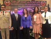 """بالصور..""""غادة والى"""" تشارك باحتفالات السفارة المصرية بالأردن  بنصر أكتوبر"""