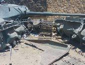 بالصور.. القمامة تحاصر متحف دبابات أبو عطوة بالإسماعيلية.. والمحافظ يرد