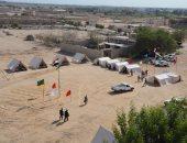 بالفيديو.. محافظ المنيا يتفقد معسكر تدريب مواجهة السيول وإيواء المضارين