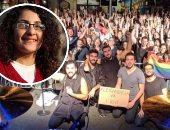 """منى سيف تتضامن مع """"مشروع ليلى"""" وتستقوى بالخارج للإفراج عن المثليين"""