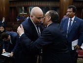"""بالصور.. النائب نضال السعيد يفوز برئاسة """"اتصالات البرلمان"""".. وزيدان أمينا للسر"""
