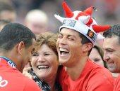 رونالدو: أمى لم تكن مهتمة بكرة القدم فقررت أن أكون الأفضل فى العالم