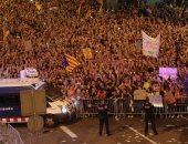 200 ألف شخص يتظاهرون فى برشلونة دعما لاستقلال كتالونيا