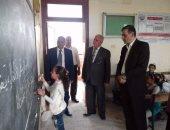 بالصور...جولة ميدانية لمتابعة مدارس إدارتى الحسينية ومنشأة أبوعمر التعليميتين